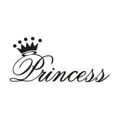 Princess Crown Tattoos, Princess Tattoo, Princess Crowns, Princess Party, Disney Princess, Machine Silhouette Portrait, Girl Silhouette, Princess Letras, Removable Wall Stickers