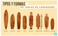 Comprar longboard dependiendo de la disciplina