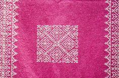 Main brodé laine écharpe châle mexicain écharpe en par LaCasaMaya