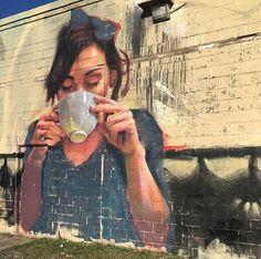 Halifax, Canada: nuovo muro dello street artist canadese Emmanuel Jarus aka Joung Jarus.