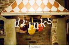 Engagement Party decor  para nomear as comidas/bebidas, etc