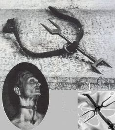 Medieval torture devices found in many Roman Catholic church dungeons.<--------Torture device in a CHURCH DUNGEON? Spanish Inquisition, The Inquisition, Pena Capital, Aliens, Crime, Bizarre, Medieval Times, Dark Ages, Roman Catholic