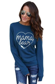 Mama Bear Sweatsh... is Available Now! Save Now @ VictoryRoze.com: http://victoryroze.com/products/mama-bear-sweatshirt-in-blue?utm_campaign=social_autopilot&utm_source=pin&utm_medium=pin