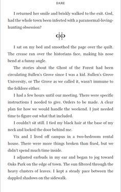 Dare by T. Foster scene break sample page Her Smile, Historian, A Funny, Dares, Book Design, The Fosters, Ebooks, Scene, Stage