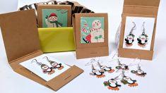 Colar Diy, The Frugal Crafter, Cute Packaging, Packaging Ideas, Diy Jewelry Packaging, Luxury Packaging, Coffee Packaging, Earring Tutorial, Bijoux Diy