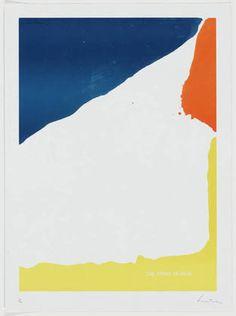 """Helen Frankenthaler - 1967. Lithograph, 31 x 23"""""""