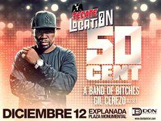 50 Cent en Tijuana junto a Band Of Bitches y Gil Cerezo de Kinky  info http://tjev.mx/1PkDDiK  #Eventos #Conciertos