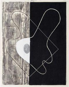 'Poeme Past' by Japanese artist, printmaker & photographer Kōshirō Onchi Multicolor woodblock, x cm. via tokino wasuremono Yves Klein, Robert Rauschenberg, Printed Portfolio, Sumi Ink, Mid Century Art, Japanese Artists, Museum Of Fine Arts, Book Cover Design, Artist At Work