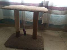 Rascador para gatos DIY