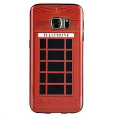 DW Graphic IMD Samsung Galaxy S7 Case - Telephone Booth