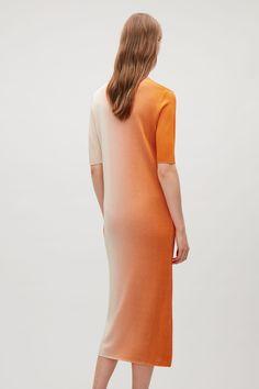 COS | Printed Rib-knit Dress