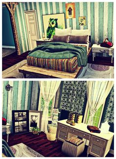 Sims 3 Bedroom Inspiration On Pinterest Bedrooms