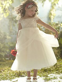 Adorable for flower girls, but quite pricey...