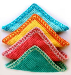 17 Free Crochet Dishcloth Patterns Thatll Make You Want to Wash the Dishes  Ideal Me