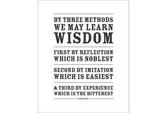 Three Ways to Wisdom, Print on OneKingsLane.com