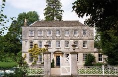 Pitchcombe House, Gloucestershire. Grade II* listed. Large country house built  c.1740 for Thomas Palling.