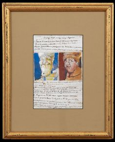 "José-María Cundín's 7.5"" x 5"" portrait sells for $1,845.00 Lot Number 915"