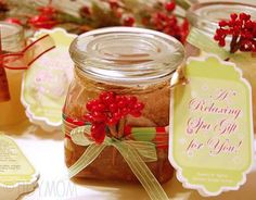 Sweet N' Spicy Brown Sugar Scrub recipe Sugar Scrub Homemade, Sugar Scrub Recipe, Glass Containers With Lids, Sweet N Spicy, Light Olive Oil, Brown Sugar Scrub, Jar Gifts, Homemade Beauty Products, Christmas Gifts