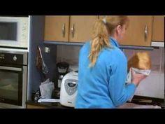 Pan dulce en panificadora - YouTube