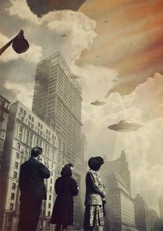 Illustration: JOSEBA ELORZA. Surreal Digital Collage