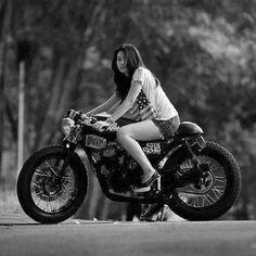 Asian Biker Girls
