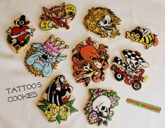 TATTOOS COOKIES