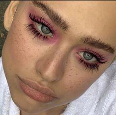 Edgy Makeup, Makeup Eye Looks, Eye Makeup Art, Cute Makeup Looks, Makeup Goals, Pretty Makeup, Makeup Inspo, Makeup Inspiration, Makeup Tips