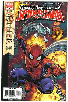 FRIENDLY NEIGHBORHOOD SPIDER-MAN #1 Great 1/10 VARIANT by Mike Wieringo! ~NM~ http://r.ebay.com/VH0hLY