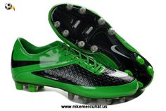 purchase cheap 28f1e 7c816 Nike HyperVenom Phatal FG TPU Boots Black Green Mens Soccer Cleats, Adidas  Soccer Shoes,