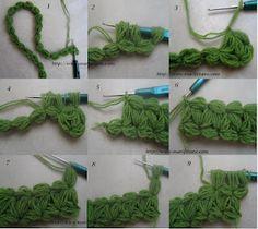 Kare lif nasıl örülür.? resimlerle kolay kare lif yapılışı cloth with crocheted soap