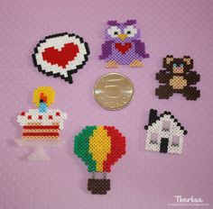 Mini hama beads by Pyssel, pyssel, pyssel...