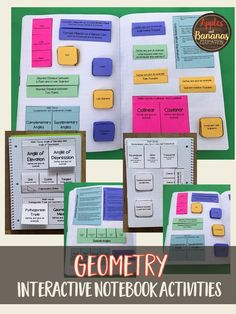 A FULL year of geometry activities for your students. Includes 3 components, INB activities (great for review and reflection), scaffolded notes, and quick checks/exit tickets. Excellent supplement to any curriculum.
