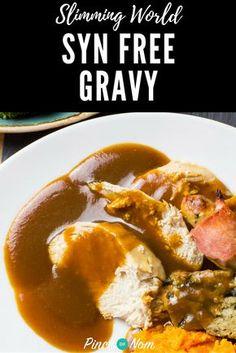 Syn Free Gravy | Slimming World Recipes - pinchofnom.com