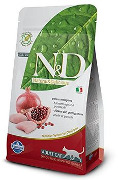 Farmina Natural  Delicious Grain Free Chicken and Pomegranate Adult Cat 11 lb bag ** Check out this great product. (This is an affiliate link)
