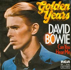 1975 - David Bowie - Golden Years -  by Affendaddy, via Flickr