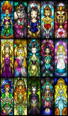 I love that Maleficent is included...I secretly like some of the villains...don't tell Mickey...