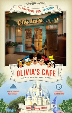 Walt Disney World Planning Pins: Savor hearty home cooking with a taste of the Florida Keys at this hidden gem at Disney's Old Key West Resort.