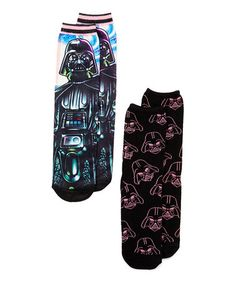 This Darth Vader Crew Socks - Set of Two is perfect! #zulilyfinds