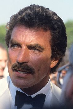 September 22, 1985 Actor Tom Selleck attends the 37th Annual Primetime Emmy Awards at the Pasadena Civic Auditorium in Pasadena, California.
