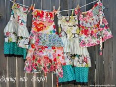 Would love a stylish apron for my new stay-at-home-mom wardrobe.  Wish I could really find how much these are.  Maybe I should just try to make one.