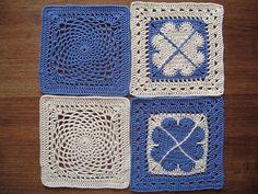 "12"" block crochetalong - February"