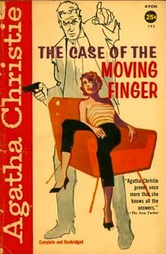 Agatha Christie's The Moving Finger featuring an elderly Miss Marple, 1957.