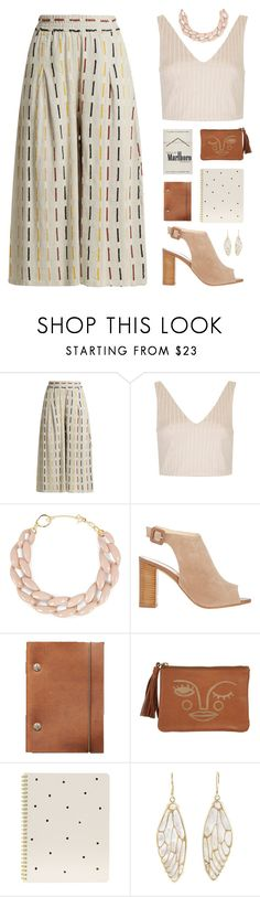 """irene"" by cnellepoms ❤ liked on Polyvore featuring ace & jig, Topshop, DIANA BROUSSARD, Barneys New York, Sugar Paper, Annette Ferdinandsen and summerdatenight"