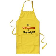 Playwright Cruel But Funny Joke Quote Slogan Long Apron - funny quotes fun personalize unique quote