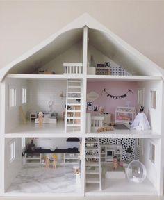 Een poppenhuis voor mama, de interieur junkie!