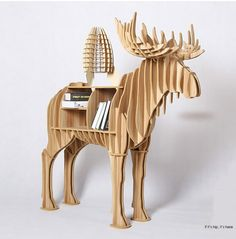 Looking for some awesome animal furniture? Here's the most fun wildlife, farm animals and more as functional furniture: shelving, end tables, desks and more