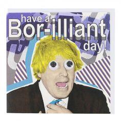 Bor-illiant card