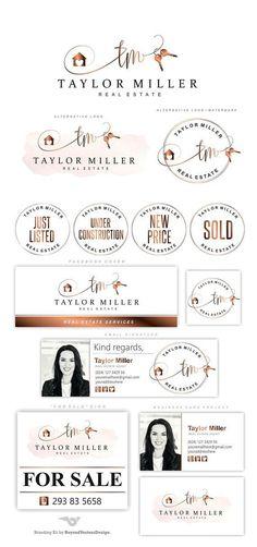 Super Home Logo Branding Business Cards Ideas Real Estate Logo Design, Real Estate Branding, Real Estate Slogans, Marketing Logo, Real Estate Marketing, Marketing Ideas, Real Estate Business Cards, Real Estate Photography, Photography Tips