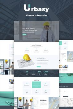 Urbasy - Construction Company WordPress Theme was developed for a construction company website. #corporatewebsite #wordpressdesign #wordpressbusinesstheme https://www.templatemonster.com/wordpress-themes/66468.html/