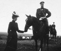 Empress Maria Feodorovna with Emperor Alexander III.